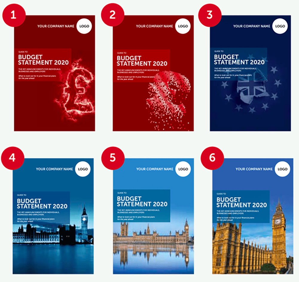 Budget Covers